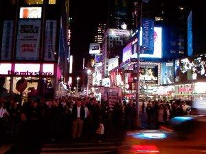 NYC über der Erde... Und alles leuchtet
