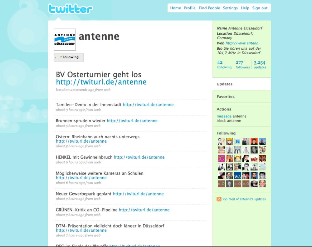 Antenne Düsseldorf Twitter